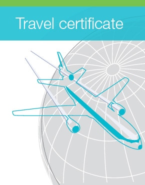 Coloplast travel certificate