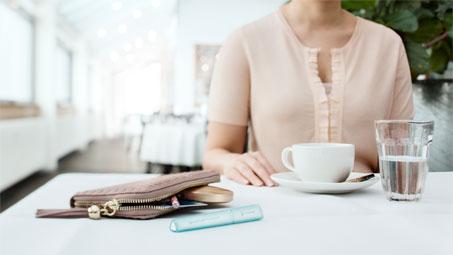SpeediCath Compact Eve is stylish catheter for women