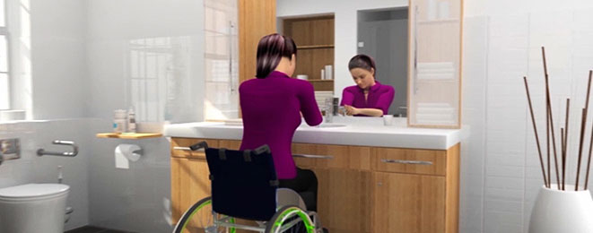 Women/Wheelchair – using Compact